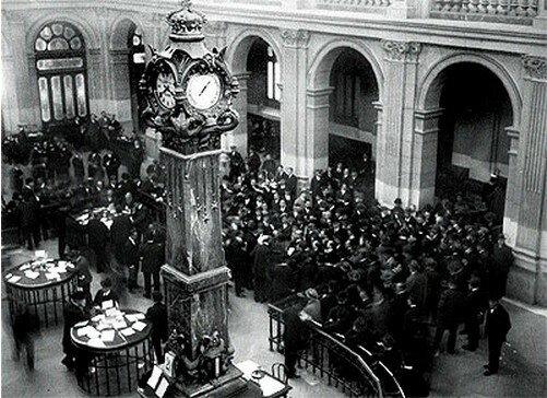 Abre la bolsa de valores de Madrid