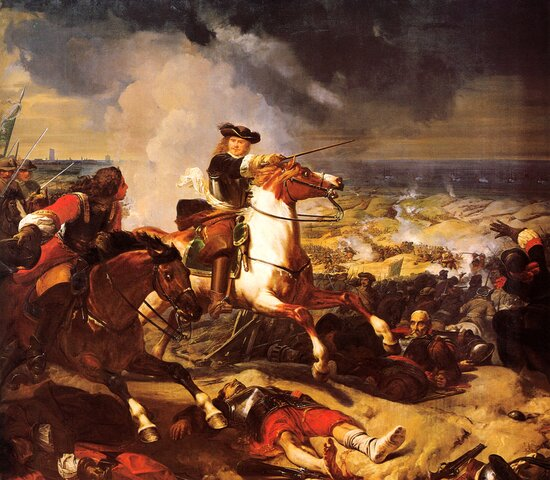 La batalla de Las Dunas