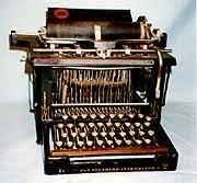 Maquina de escribir (tipógrafo)