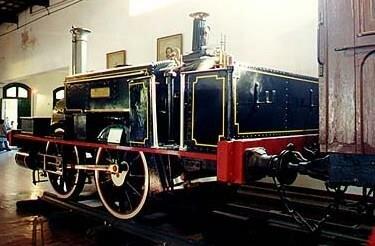 Ignaguracion oficial de la locomotora