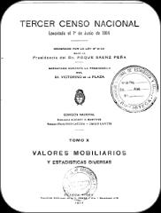 III Censo Nacional