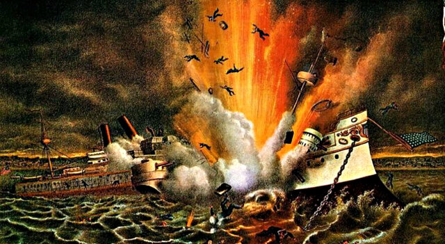 explosion USS maine