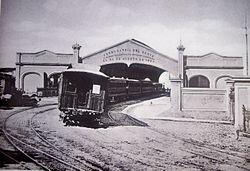La primera linea ferroviaria