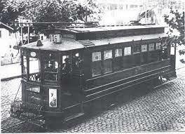 Primeros tranvías eléctricos