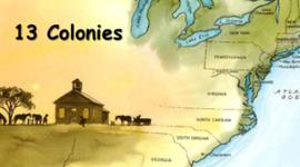 13 colonies timeline