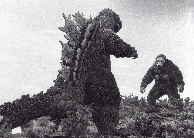 Godzilla's  appearance