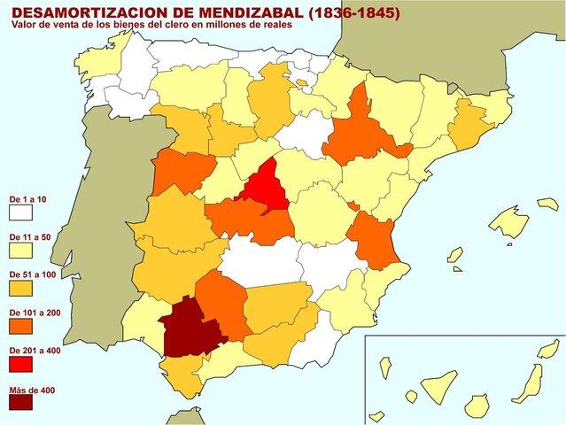 Desamortización de Mendizába  ( 1836 )