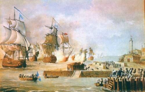 Victoria anglo españolas (1812-1814)