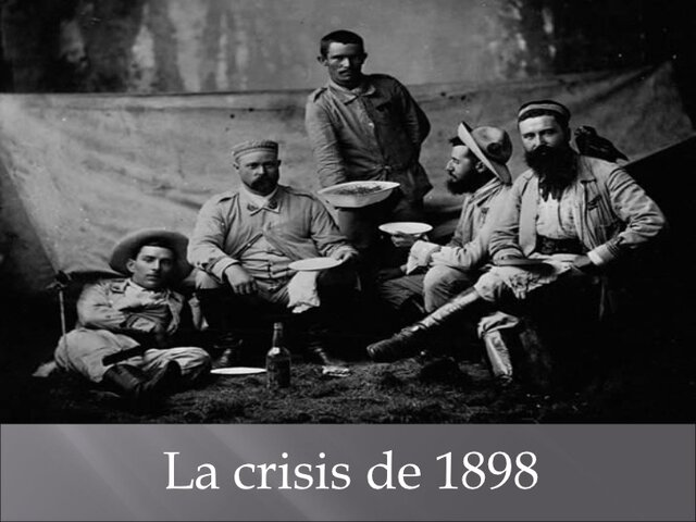 La Crisis del 1898