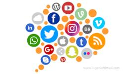 rede sociales timeline
