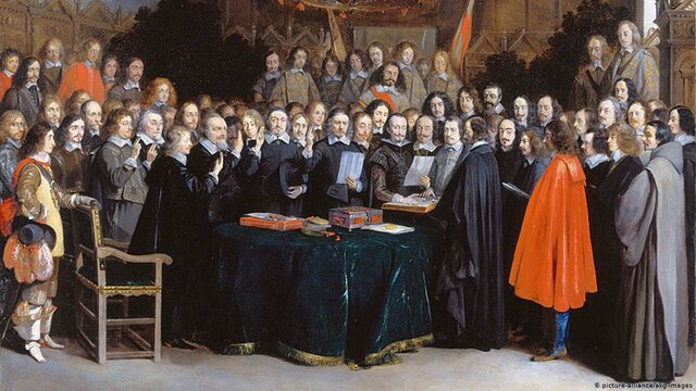 Paz de Westfalia.