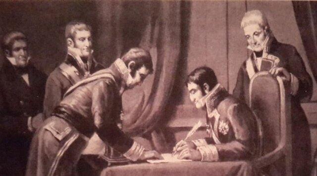 Fernando VII deroga la Constitución de 1812