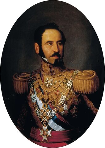 Dimisión del General Espartero