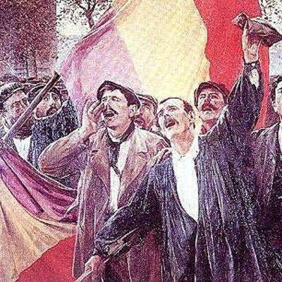 La crisis del 98 a la Segunda República timeline