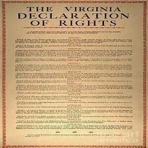 La Constitución de Virginia.