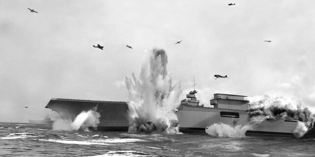 The Battle of Coral Sea