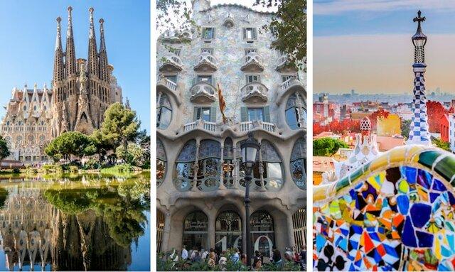 Antonio Gaudí (1852-1926) y sus obras