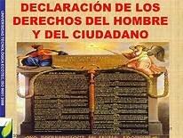 Declaración de Derechos del Hombre y del Ciudadano.