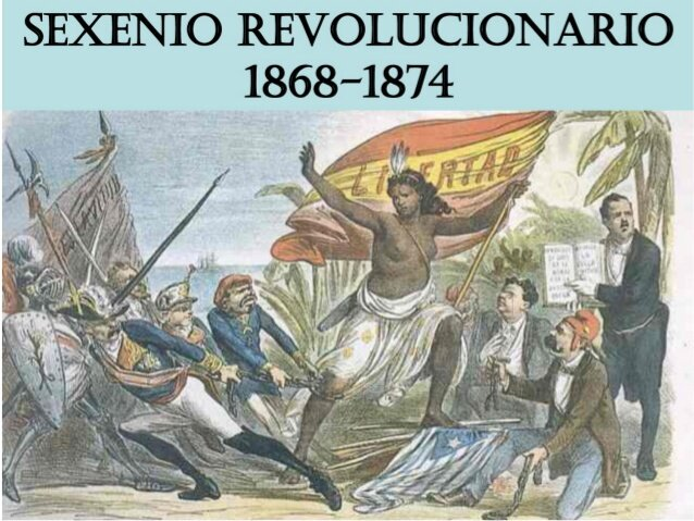 SEXENIO DEMOCRATICA (1868-1874)