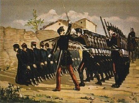 Fusilamiento de los sargentos sublevados