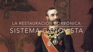 EL SISTEMA CANOVISTA 1874