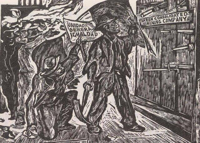 1906 Huelga de cananea