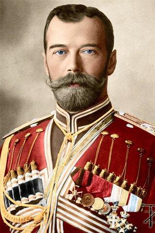 Abdica el Zar Nicolas II  (R.R)