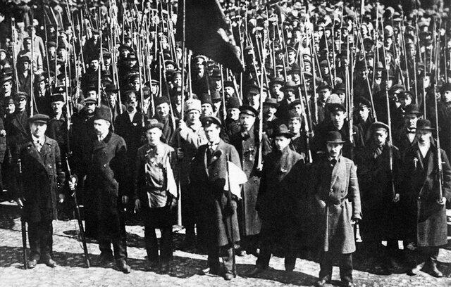 Fin de la Revolución Rusa  (R.R)