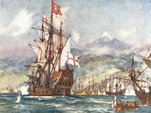 Conflicto entre Inglaterra y España