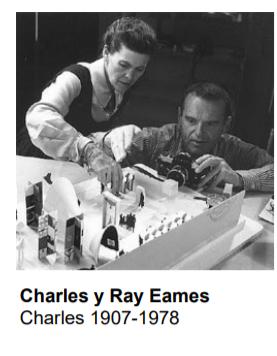 Charles y Ray Eames (1907-1978)