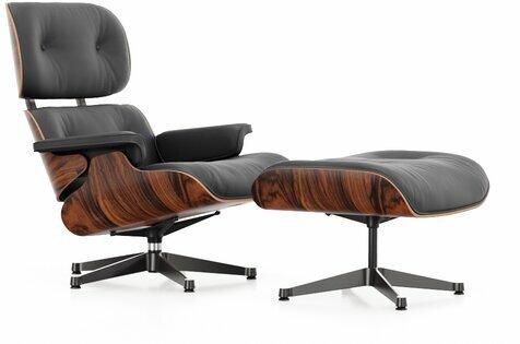 Sillón Lounge Chair & Ottoman de Charles y Ray Eames