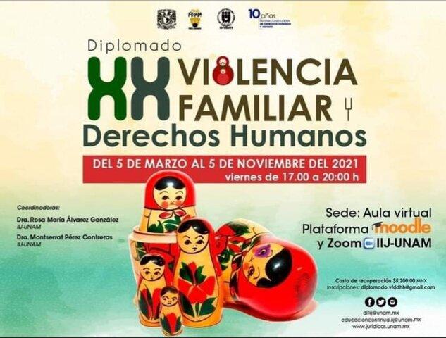 Diplomado Violencia Familiar y DDHH.