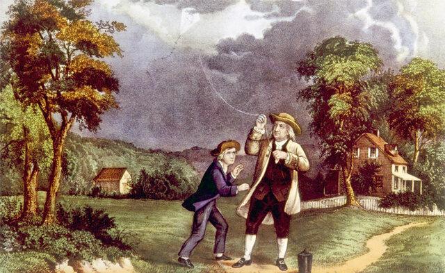 5. El pararrayos (1752)
