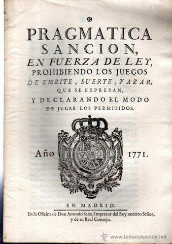 Ley Pragmática (1830)