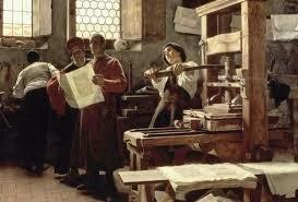 La imprenta moderna