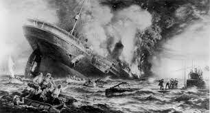 WW1: Sinking of Lusitania