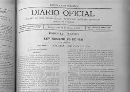 LEY 62 DE MAYO DE 1931