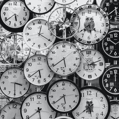 Tecnologías para medir el tiempo timeline