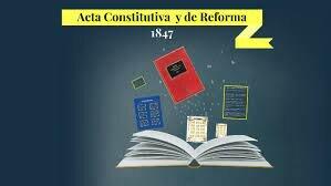 Acta Constitutiva y de reforma.