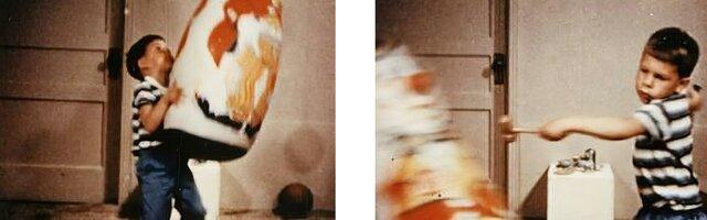 Experimento de la agresividad/Muñeco Bobo(Albert Bandura)
