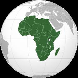 Carta africana.