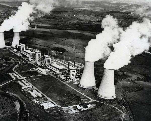 The first nuclear energy power station in the world was built