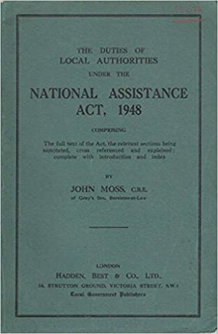 The National Assistance Act