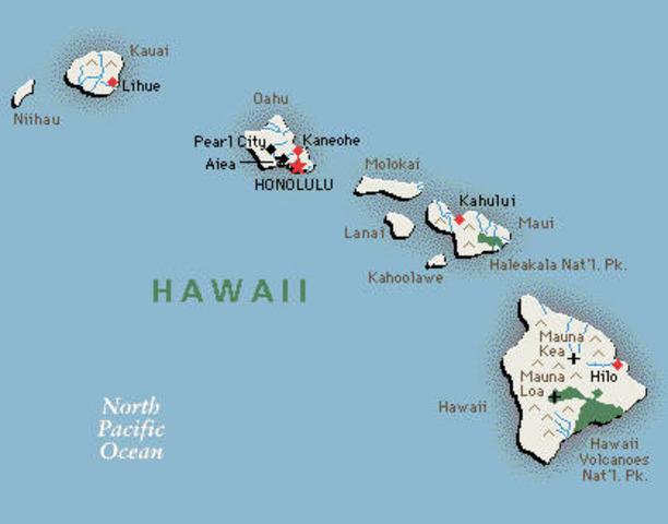 Hawaii Becomes a Territory
