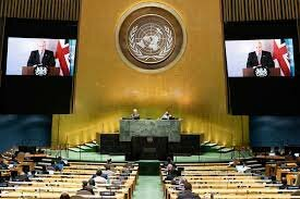 LA  ASAMBLEA DE LA ONU