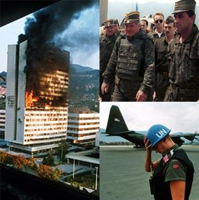 Guerra de Bosnia.