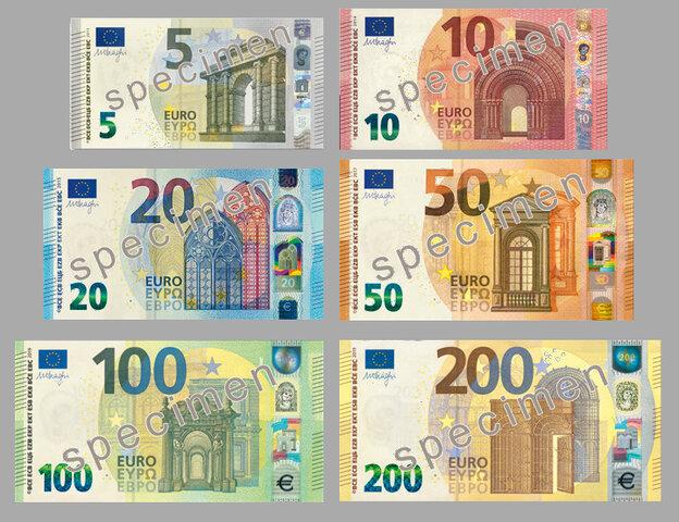 Entrada de la circulación del Euro