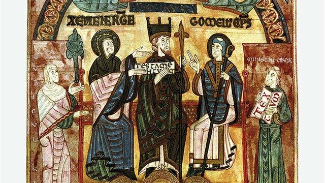 El clero educando a la nobleza