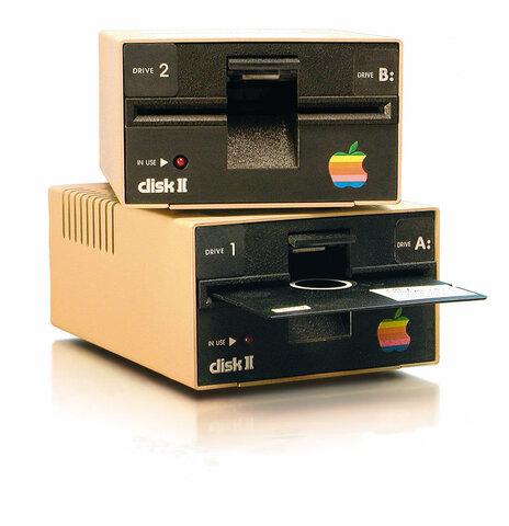 Disco de Apple II introducido