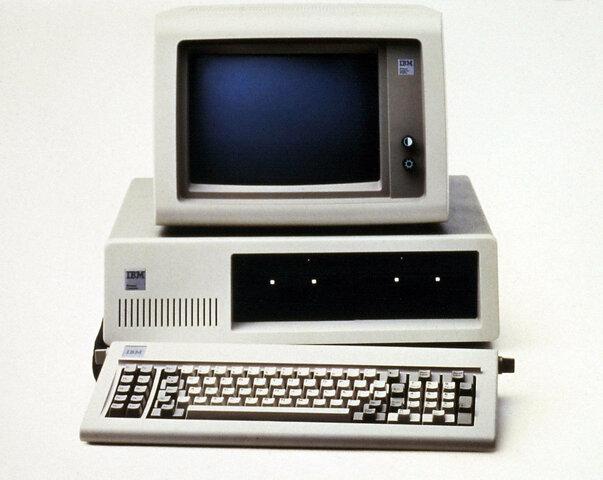 IBM presenta el PC 1981